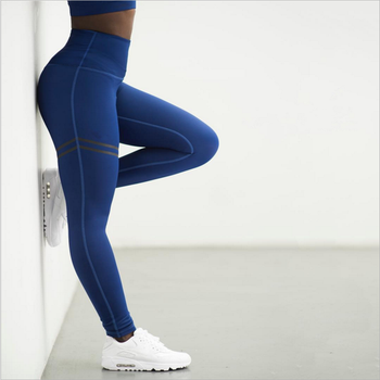 011f100ca558cf Activewear High Waist Fitness Leggings Women Pants Fashion Patchwork Workout  Legging Stretch Slim Sportswear Jeggings
