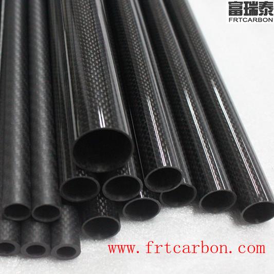 32 mm de diam/ètre C 1 Tube en fibre de carbone 3K brillant pour mod/èle RC Air 8