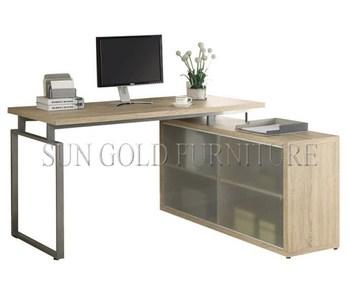 Genoeg Moderne Stijl Soho Hoek Computer Bureau Met Kast (sz-od465) - Buy @UM33