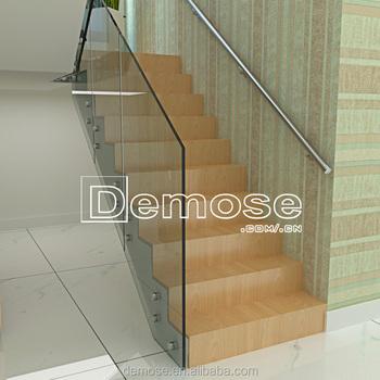 Treppengelander Und Gelander Modernen Designs Handlauf Glas Handlauf