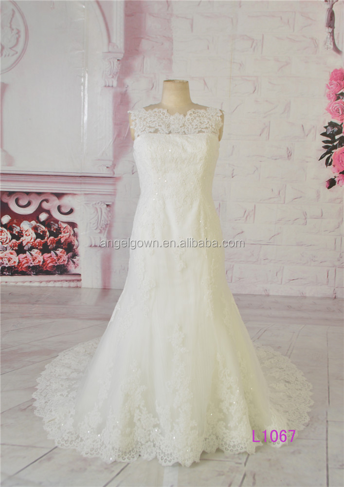 Famous designer mermaid wedding dress for girl church dresses
