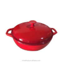 cast iron saucepan fry deep pan with Lid for sale for china