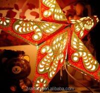 foldable paper star lanterns wholesale manufacturer
