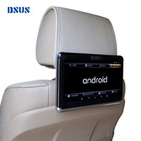 DSUS Car Android Headrest DVD Player universal, 10.1 inch portable Android tablet with DVD player Battery Bluetooth WIFI