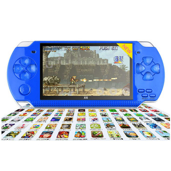 China cheap game console mp5 game player psp free mp4 player game.