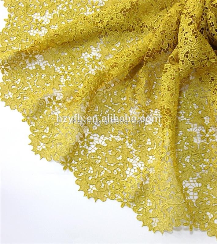 2016 New Design Nigeria guipure mint lace / lace fabric embroidery / African lace cord latest design With Sequins