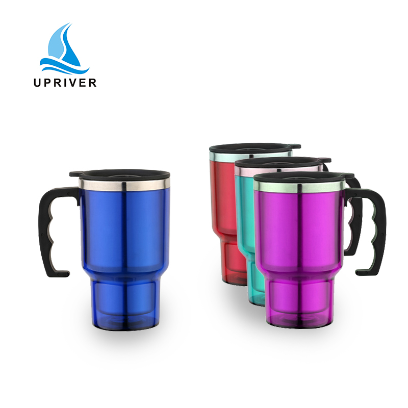 eco friendly promotional metal coffee travel mug for car