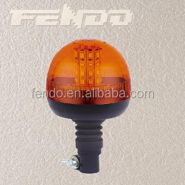 Orange//bleu magnétique rotatif beacon warning signal clignotant lumière d/'urgence