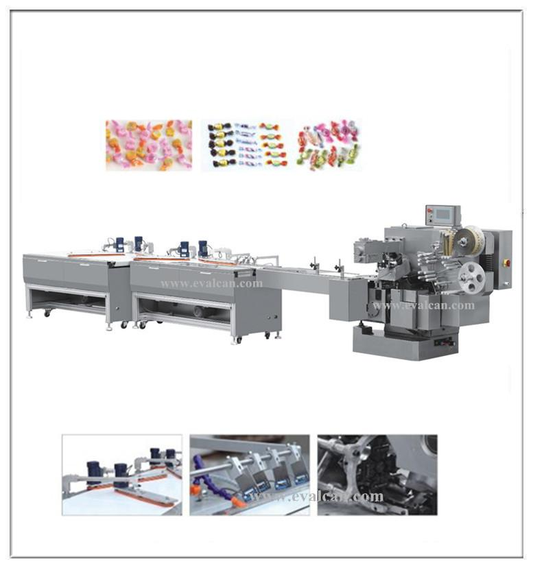 Candy Double Twist Wrapping Machine