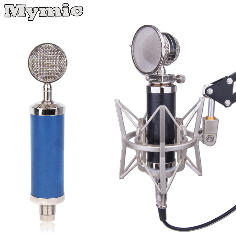 professional baby bottle style vogue condenser microphone mic for studio vocal instrument. Black Bedroom Furniture Sets. Home Design Ideas