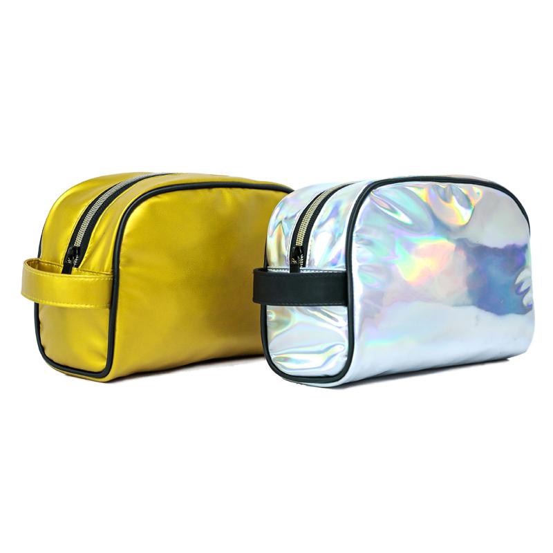 Holographic PU New Design Men or Women Evening Clutch Bag Outdoor Cosmetic Pouch