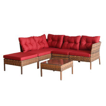 latest design moroccan chesterfield iron l type hall sofa set