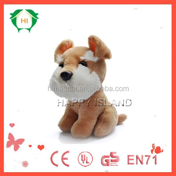 HI EN71/ASTM OEM lifelike plush dog, the dog plush toys,dog plush