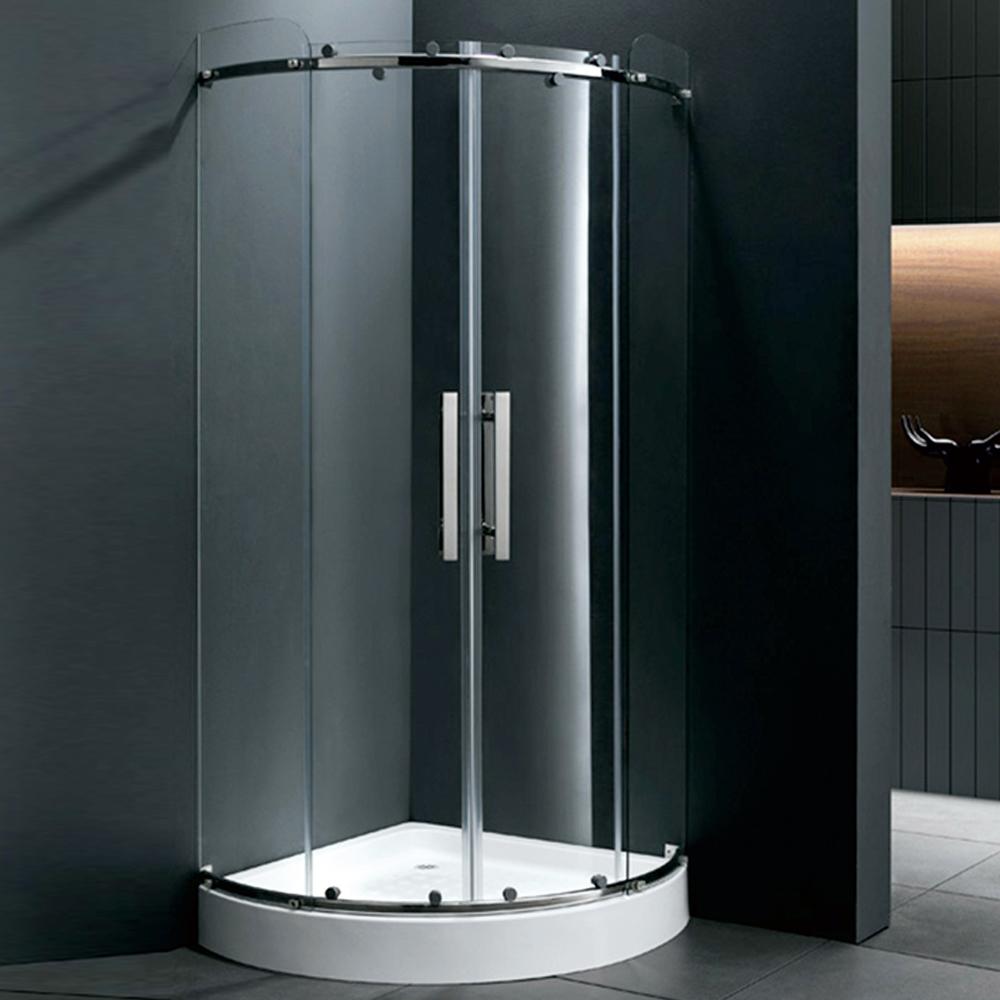 Corner Shower Cabinet Fibergl Walk