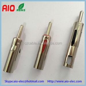 Car antenna plug connector,motorola plug connector,ISO car antenna plug  male radio connector