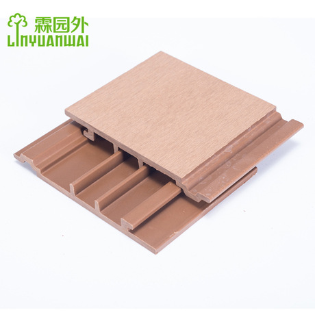Zhejiang LYW China recycled advanced supplier wood plastic composite exterior wpc wall panel