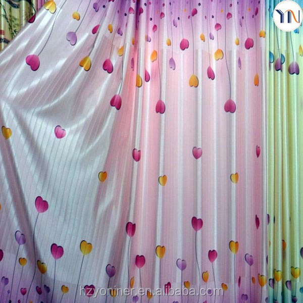 100% polyester strip design fabric for south Asian curtain printing blackout fabric for curtain flame retardant china supplier