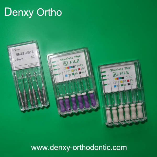 CE/ ISO approved dentist materilasd orthodontic endo file instrument