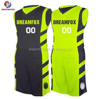 Sublimation Wholesale Newest Basketball Uniform Custom Basketball