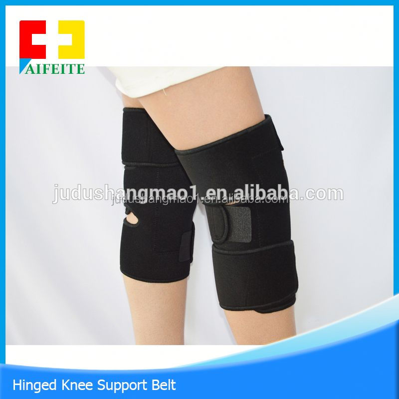 Hot new products self- heating magnetic elastic spring knee support for sport