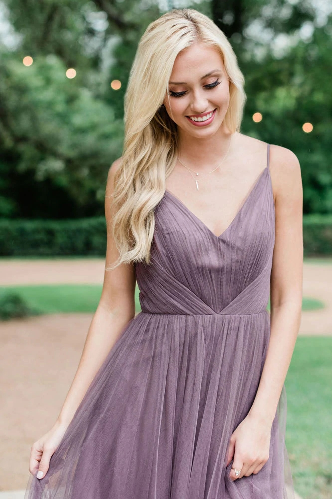 Maxi Bridesmaid Robe Penelope Tulle Dress
