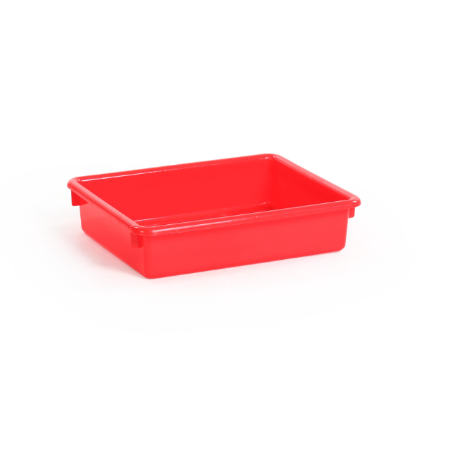 Wholesale high quality environmental 3 inch shallow plastic toy storage tray