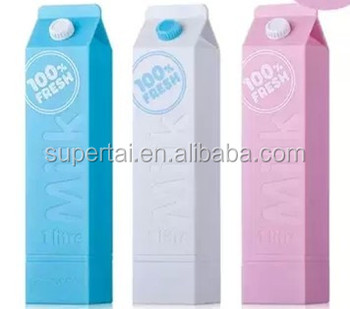 Milk Box Shape Portable Mobile Power Bank 2600mAh for Company Gifts