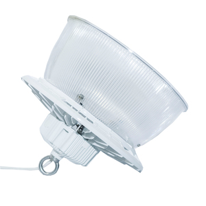 Dimmable DALI Aluminum PC Reflector 150W 200W 130LM/W Round LED High Bay