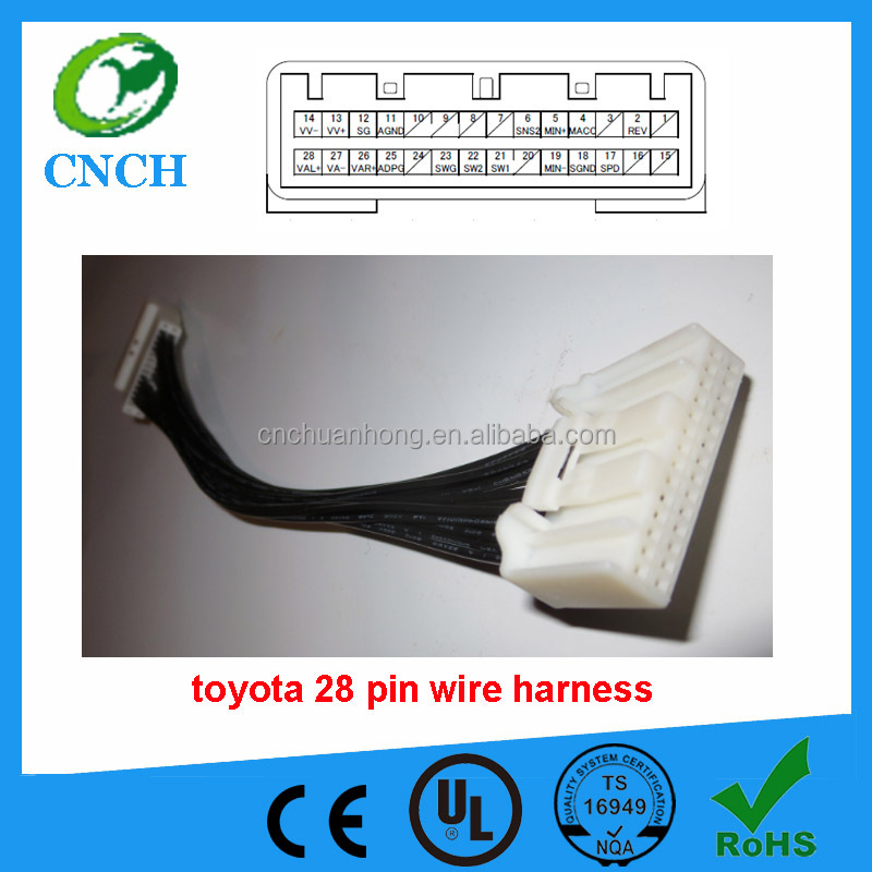 Toyota 28 pin Head Unit Wire Harness toyota 28 pin wire harness, toyota 28 pin wire harness suppliers 28-pin head unit wiring harness adapter at cos-gaming.co
