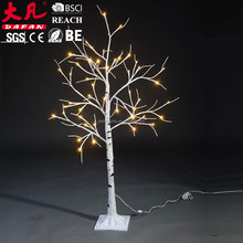 New fashion europe popular led lights tree outdoor christmas train decoration