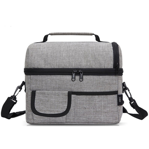 Family Insulated Inner Lunch Cooler Bag Cool Carry Cooler Bag with Adjustable Shoulder Strap