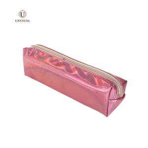 New design Waterproof pvc durable outdoor school use pencil case bag