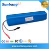 Special design rechargeable round 3S6P 12v 15.6Ah lithium led light battery 11.1v flashlight battery with 18650 samsung cells