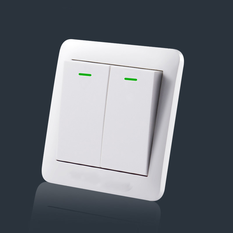 High Quality Electrical 2gang 1 Way 2way Wall Switch