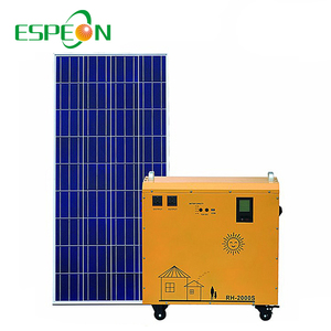 Off Grid Solar Panel Kits System 100W 200W 300W 500W Portable Use For Fridge TV LED Light Cell Phone Charge