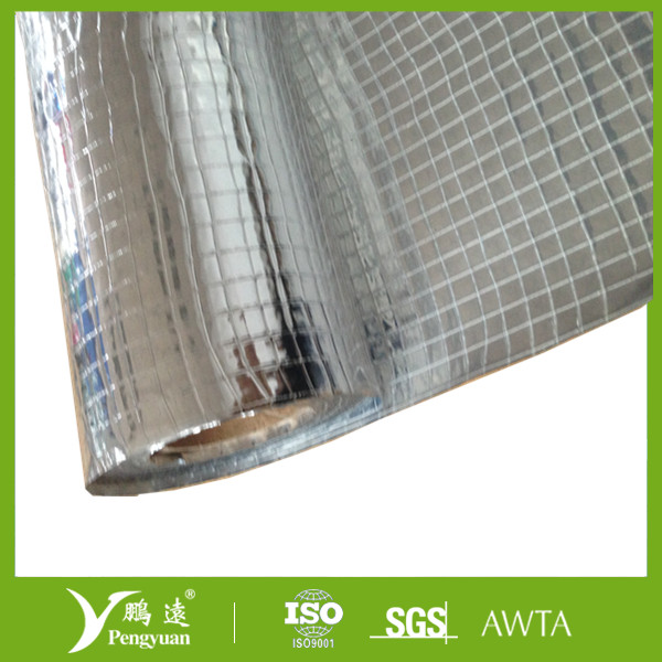 Reinforced foil scrim glass for rock wool insulation