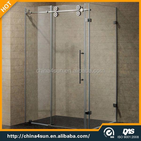 3 panneau coulissant en aluminium profil pour porte de douche en verre salle de douche id de. Black Bedroom Furniture Sets. Home Design Ideas