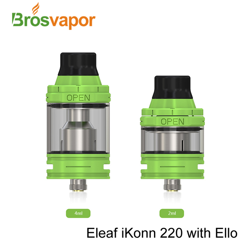 New Arrival hottest vape starter kit Eleaf iKonn 220 with ELLO Kit iKonn 220 Kit with 4ml/2ml tank