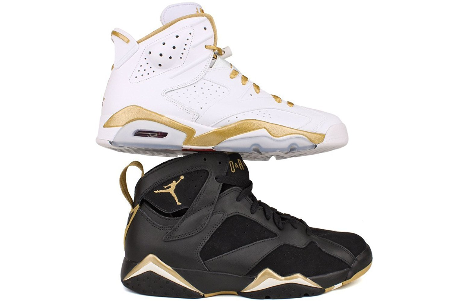 reputable site 738bf 21ce2 Get Quotations · Nike Mens Air Jordan 6 Gold Medal Golden Moments Pack  535357-935