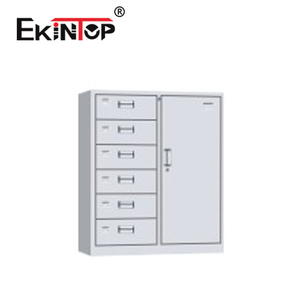 Ekintop used cd designer tool parts waterproof iron metal a3 storage 6 drawers file cabinet for sale