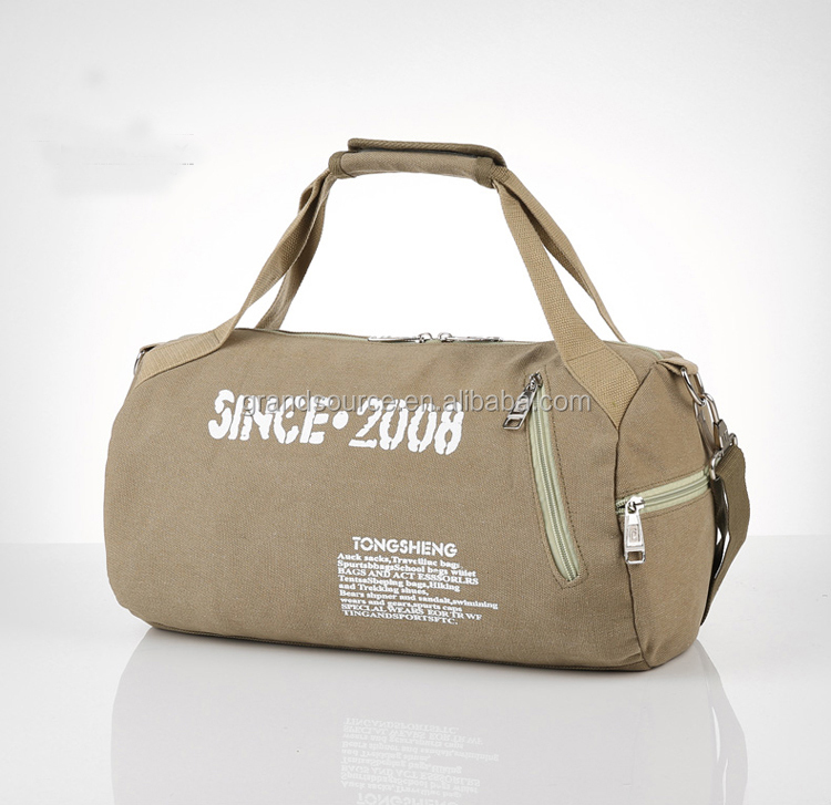 Men and women canvas gym bag