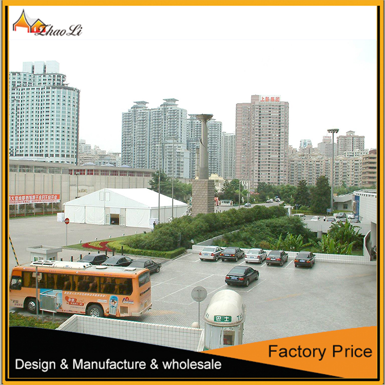 20X25m with transparent roof cover and sidewalls for 500 seats outdoor wedding party events