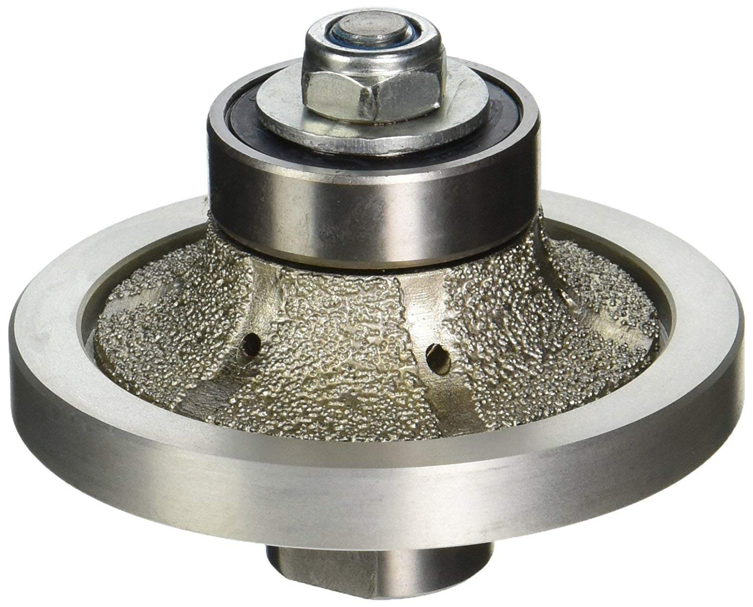3/16 Inch 3/8 Inch 1/2 Inch 3/4 Inch 1 Inch 1 1/4 Inch Diamond Round over Bull nose Router Bit profile grinding wheel engineered stone Concrete granite marble quartz counter top edge shaping repair