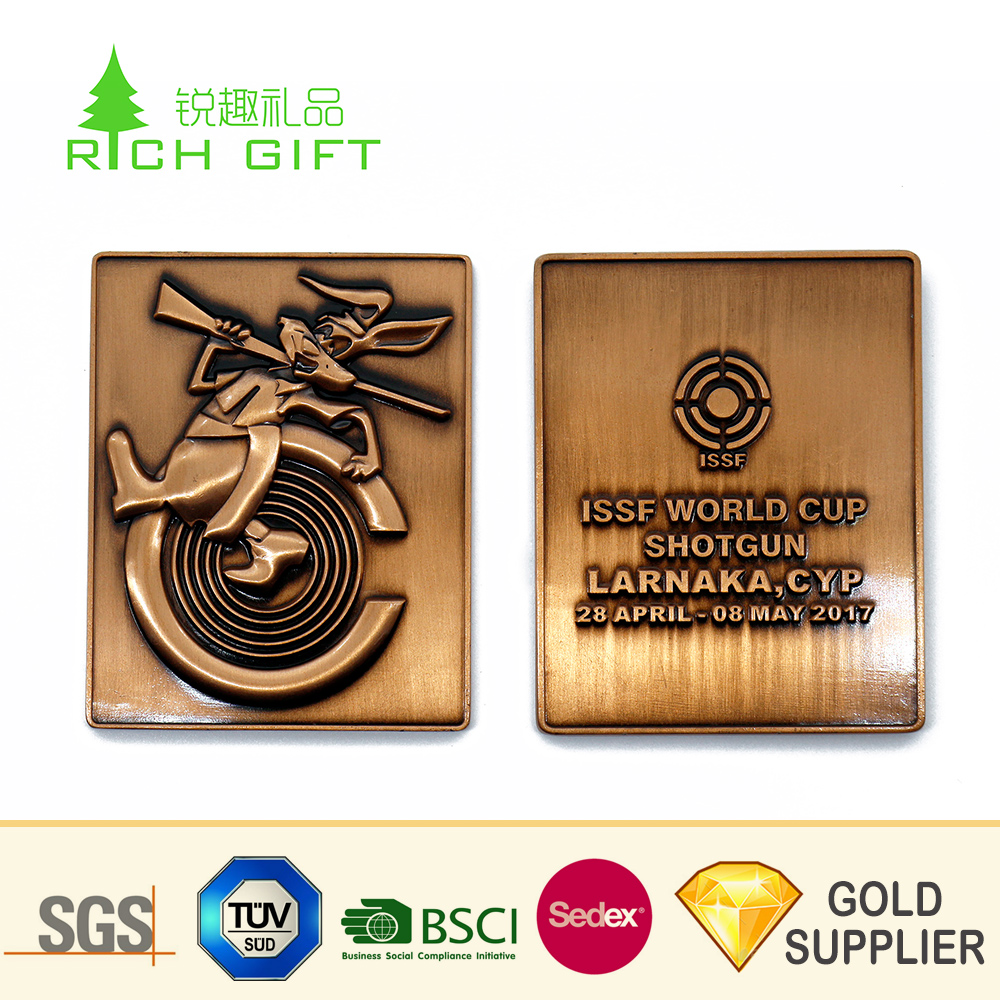Chinese Supplier Cheap Trading Metal Brass Antique Copper Plated Square  Shaped Animal Bee Challenge Coins - Buy Metal Challenge Coin,Animal  Coin,Brass