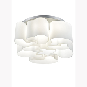 Italian design glass lampshades ceiling lamp for living room