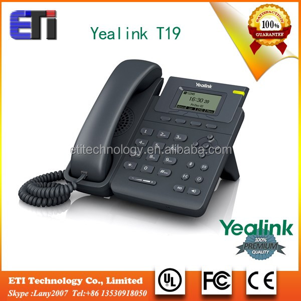 Entry-level Full-Duplex Speakerphone T19PE2 OEM New Integrated PoE what are ip phones