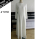 long muslim dress white casual patterns
