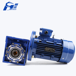 Best price 30:1 1:25 1:50 ratio speed reducer motor reduction worm gear gearbox for electric motor