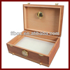 Elegant Cigar Solid Wood Humidor With Drawer