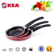 Very popular mini frying pan with non-stick coated bake-lite handle